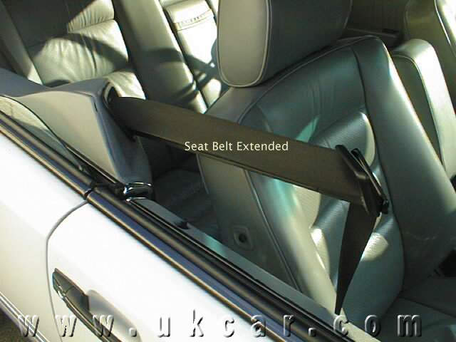 Mercedes Coupe Seat Belt Out